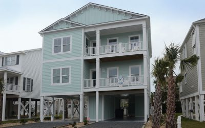Dune home at Holden Beach