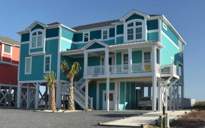 Oceanfront at Holden Beach