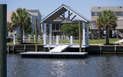 Covered Boat Dock – Holden Beach