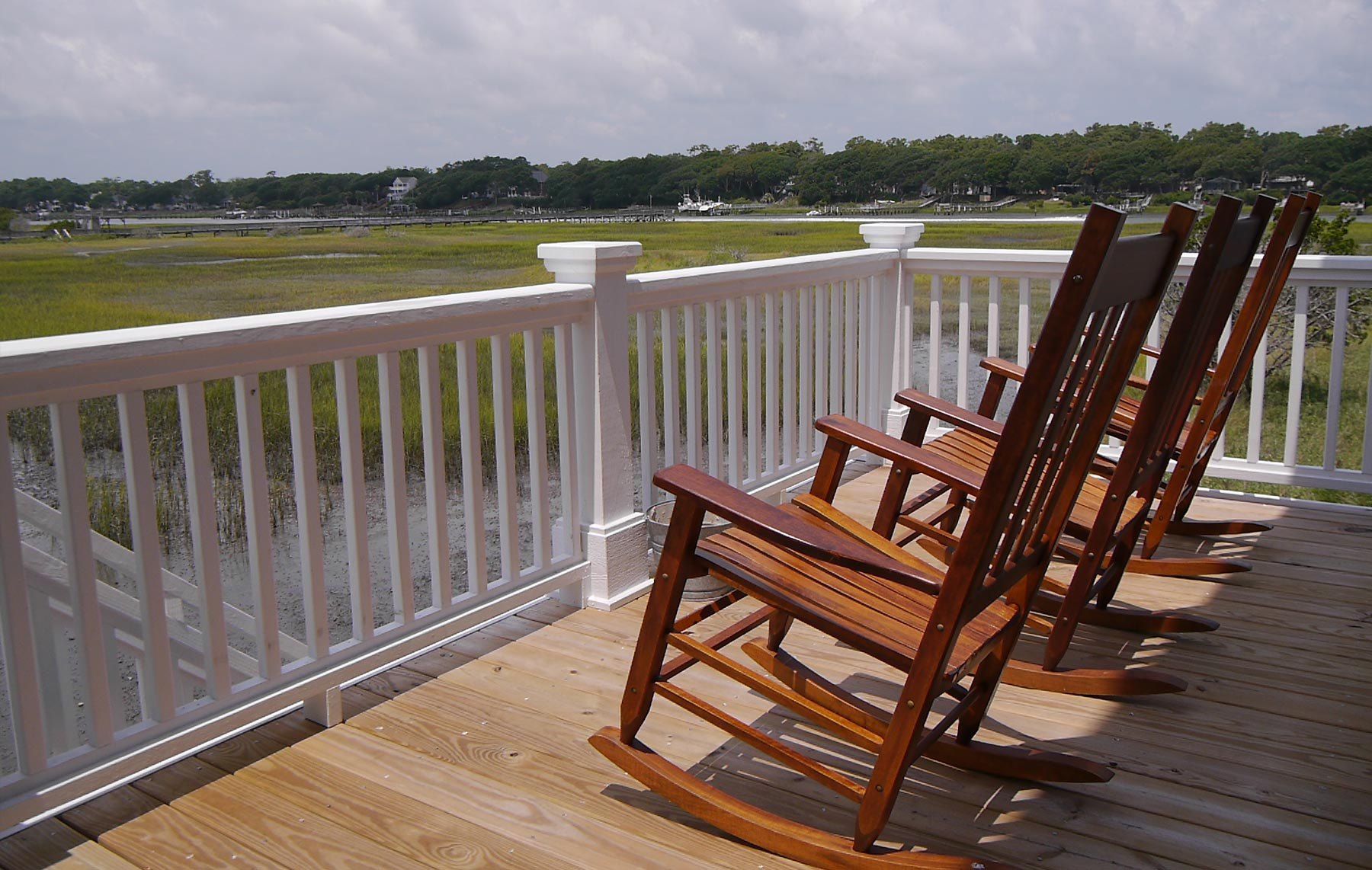 Porches and decks – so important in the coastal home plan.